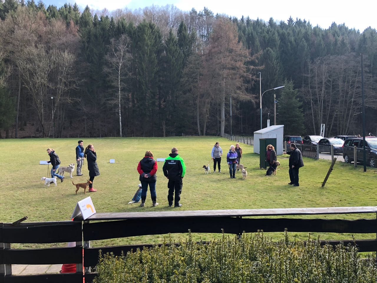 Schulung Rally Obedience 24.03.2018